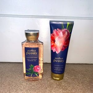 Bath & Body Works Perfect Peony collection
